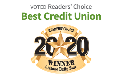 Voted Readers' Choice: Best Credit Union of 2020